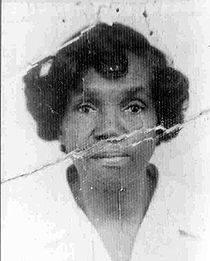 Foto de uma das primeiras moradoras da Maré, usada como foto de perfil na página do Facebook do Maré Vive.