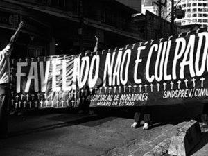 Favelado Não é Culpado. Imagem de Leo Lima.