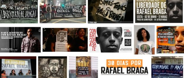 The Rafael Braga case has provoked debates and protests across Rio and all of Brazil