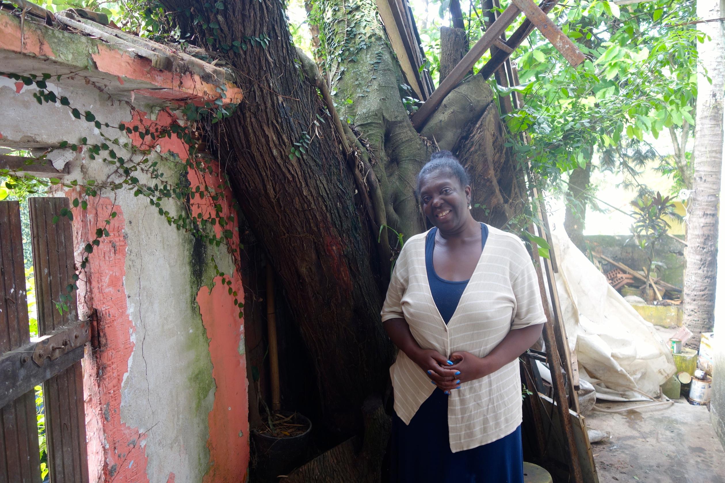 Emilia, ex-presidente da Associação de Moradores do Horto Florestal.