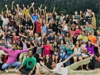 Alunos do Projeto de Educação Comunitária (PECEP), na Gávea.