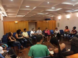Participantes da 6ª Roda de Conversa Faveladxs e Universitarixs
