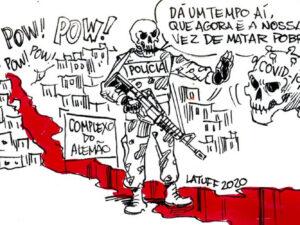 Charge por Carlos Latuff