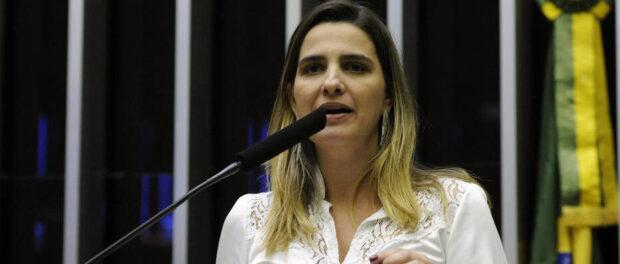 Clarissa Garotinho, candidata à prefeitura. Foto por: Luis Macedo/Câmara dos Deputados.