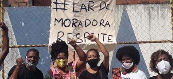 #LarDeMoradoraRespeite. Foto de Marcos Rodrigo.