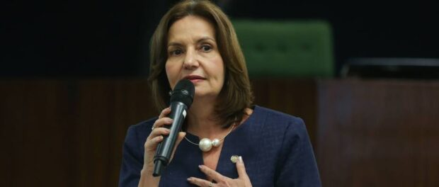 Martha Rocha, candidata à prefeitura. José Cruz/Agência Brasil.