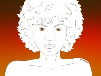 Ilustração Mulher Negra. Arte por: Anna Paula Rodrigues (@annapapr)