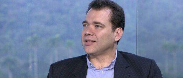Paulo Messina, candidato à prefeitura em entrevista à TV Globo.