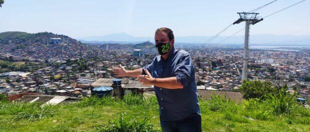 Eduardo Paes, candidato a prefeito.