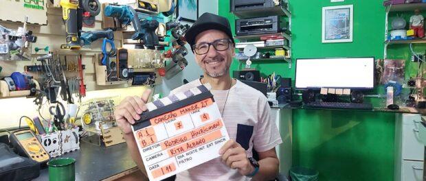 Fabio Miranda, membro do Instituto Favela da Paz e coordenador do projeto Periferia Sustentável. Foto da página do Facebook de Fabio Miranda.