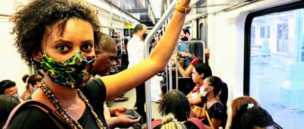 Kelly Martins trens sobrecarregam a saúde mental da população negra. Foto por: Kelly Martins
