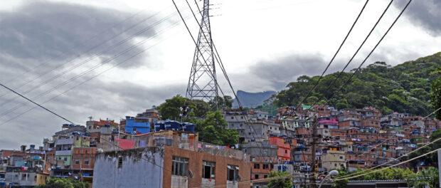 Moradores de favela acreditam que na favela existe menos racismo. Foto por: Gracilene Firmino