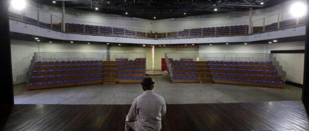 Arena Jovelina Pérola Negra, toda reformada referência de produção cultural no subúrbio carioca. Fotos Marcos de Paula/Prefeitura do Rio