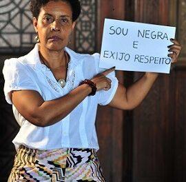 A cientista da Fiocruz Hilda da Silva Gomes exige respeito com relação à sua cor.