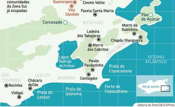 Light escolheu três comunidades na Zona Sul do Rio de Janeiro para receber um projeto piloto, Babilônia, Ladeira dos Tabajaras e Chapéu Mangueira, todas localizadas no bairro de Copacabana.