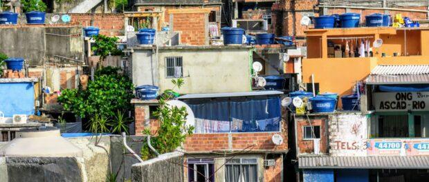 Casas na Rocinha