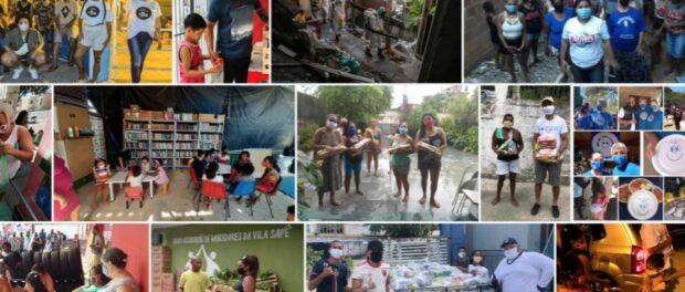 Coletivos envolvidos com o Painel Unificador Covid-19 nas Favelas