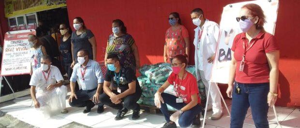 Ação do Centro Comunitário Raiz Vida. Foto: Centro Comunitário Raiz Vida