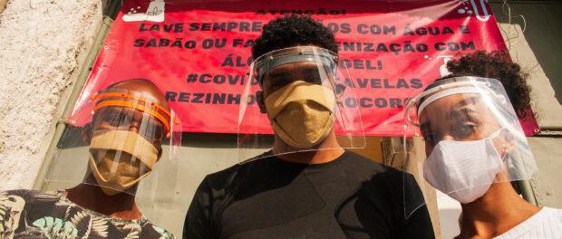 Ação organizada pelo LabJaca do Jacarezinho. Foto: LabJaca