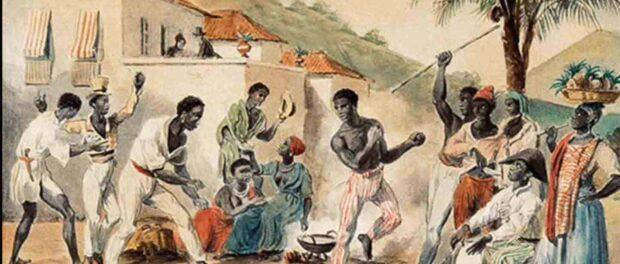 Roda de Capoeira, de Johann Moritz Rugendas (1835)