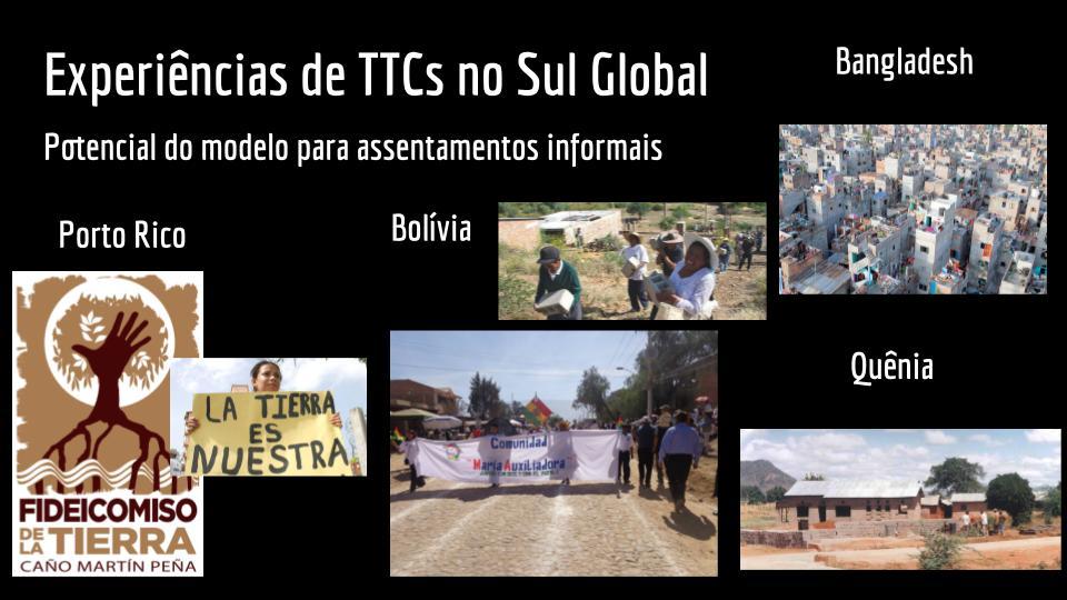 Experiências de TTCs no Sul Global