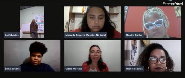 'Desmilitarização por Elas', evento do VI Julho Negro, reuniu mulheres ativistas das favelas cariocas contra a militarização da vida