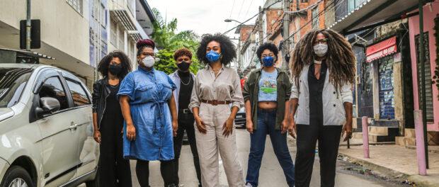 Equipe da Casa Preta no caminho para uma sociedade antirracista. Foto por Matheus Affonso