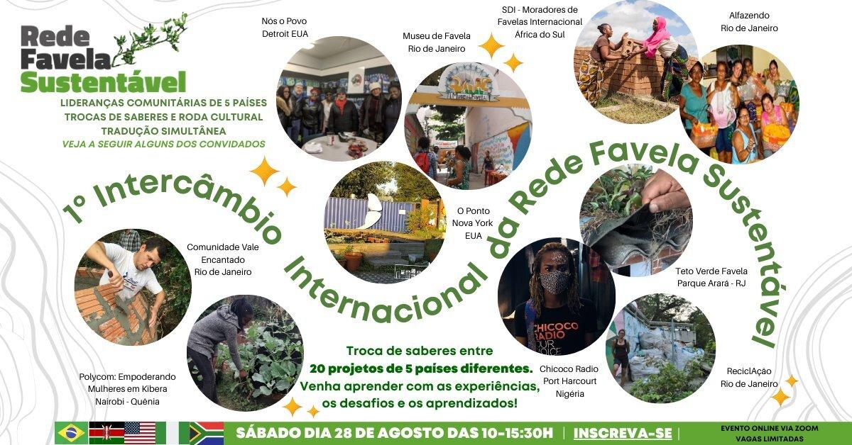 1o Intercâmbio Internacional da Rede Favela Sustentável